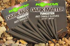Korda Dark Matter Tungsten Anti Tangle Sleeves - Long or Short - Carp Fishing