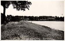 Elstree. The Reservoir. Lone Angler.