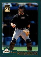 2001 Topps Traded Baseball Card Pick