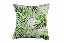 100% Cotton Cushion - Palm Leaf Design 45 x 45 cm