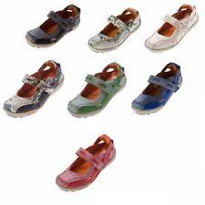 Comfort Damen echt Leder Ballerina Schuhe TMA 1601 Sandalen 36-42 viele Farben