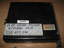 83 84 NISSAN PULSAR w/turbo ECU/ECM #C18-607 570 *see item description*