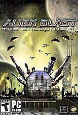 Video Game PC Alien Blast The Encounter NEW SEALED BOX