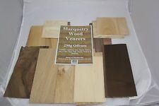 Placage de bois offcut Pack pour marqueterie
