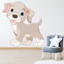 Chiot mignon Enfants Sticker Muraux WS-44776