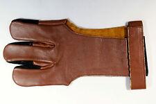 Vista Archery Full Finger glove super soft leather w/ mega hide finger tips