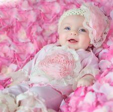 EXCLUSIVE! Haute Baby Boutique Infant Girls Pant Set PINK LULLABYE 0/3-12M