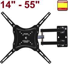 """Soporte de pared para Tv LCD LED MONITOR televisor Giratorio 14"""" 32"""" 42"""" 46"""" 55"""""""
