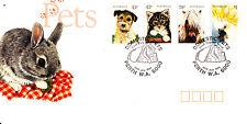 1991 Pets  FDC - Perth WA 6000 Pictorial PMK