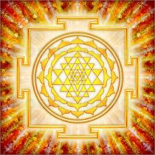 Acrylglasbild Sri Yantra - Artwork Licht - Dirk Czarnota