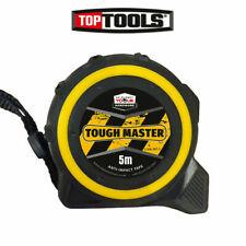 Toughmaster Pocket Tape Measures Metric/Imperial 5M/16ft Anti-Impact 25mm Packs