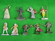 D&D, whfrp, Mordheim, RPG, personajes femeninos Surtidos, pintados, anuncio de varios