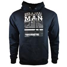 "Men's Hoodie-THE BEATLES - ""Nowhere Man"" - Pullover Sweatshirt - Kangaroo Pocket"