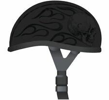 Skid Lid Original Helmet 646635 Flat Black, XX-Large