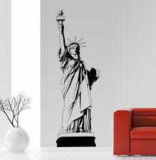 Freiheitsstatue New York Graffiti Jugendzimmer Liberty Wandaufkleber WandTattoo