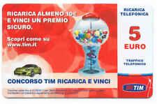 VINCI SICURO 5 EURO RICARICA TELEFONICA TIM