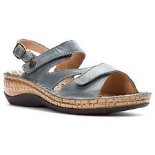 Propet Women's Jocelyn WSO003L Leather Sandals Denim Sizes 6.5-11 M, W