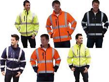 Yoko HVK09 Hi Vis SoftShell Jacket | Hi Visibility Security Waterproof Coat