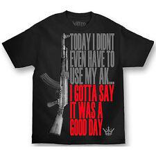 Mafioso Good Day Ice Cube Urban Rap AK-47 Gun Rifle Music Mens T Shirt MTMM61004