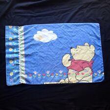 Disney Winnie the Pooh Pillow Case Honey Bee Flowers Vintage