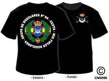 CAMISETAS MILITARES: GRUPO DE REGULARES Nº 54 - CEUTA