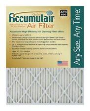 Accumulair Gold MERV 8 Air Filter/Furnace Filters (4 pack)