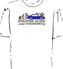"Subaru Impreza Evo ""Evolution of Man and Machine - Carwash"" t-shirt"