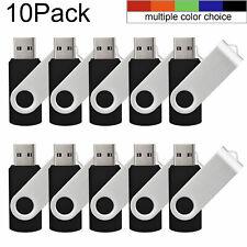 5/10 Stück 1G/2G/4G/8G/16G/32G/64G Rotierend 2.0 USB Sticks Speichermedien Daten