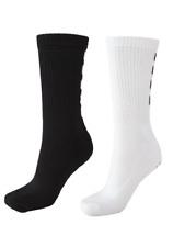 3 Hummel Fundamental Sportsocken Socken Handballsocken Strümpfe weiß schwarz WOW
