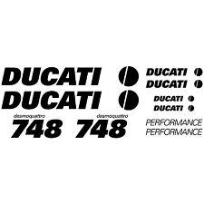 MAXI KIT DUCATI DESMOQUATTRO 748 Stickers Autocollants Adhésifs Moto Qualité