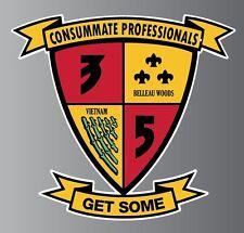 3rd Battalion 5th Marines Consummate Professionals sticker vinyl decal