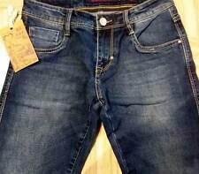 Jeans uomo Baci & Abbracci in cotone elasticizzato con sbiaditure art EB03M