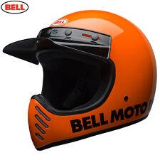 BELL Cruiser 2017 MOTO 3 Modern Classic Flo KTM Orange Motorcycle MX Helmet