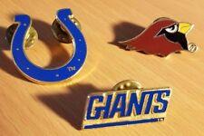 1995-96 NFL Lapel Pin Choose 1 NY Giants, Arizona Cardinals, Indianapolis Colts