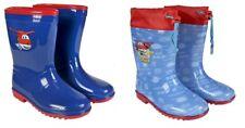 DISNEY Kinder Gummistiefel - Regenstiefel - Super Wings Stiefel - Jett rot /blau
