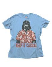 Junk Food Star Wars Keep It Casual Adult Sky Blue T-Shirt