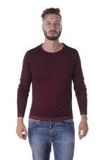 Maglia Daniele Alessandrini Sweater -55% Halle Uomo Bordeaux FM91473607-14