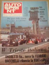 Autosprint 19 1977 Mc Laren M24-Cosworth Mario Andretti