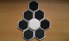 8 x dispositivi di scorrimento. SPOSTARE MOBILI PESANTI facilmente sui tappeti, piastrelle, legno, vinile, laminato.