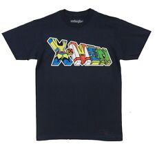 X-Men X-Letters Wolverine Cyclopes Phoenix Marvel Adult T Shirt