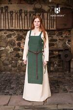Mittelalter Schürzenkleid Wikinger - Grün