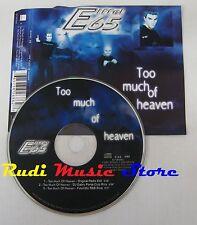 CD Singolo EIFFEL 65 Too much of heaven 2000 WARNER GERMANY no mc lp dvd(S10***)