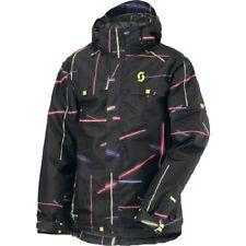 Scott Souza TP Freeride Snow / Ski / Board Jacket, Black/Tron, Many Sizes! NEW!!