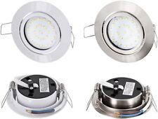LED 4W Spot Einbaustrahler schwenkbar - Trafo 230V - Decke Einbauleuchte - 330lm