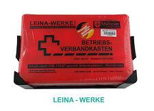 Betriebsverbandkasten DIN 13157 Verbandkasten Leina grün orange Erste Hilfe Neu
