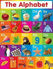 248051 Alphabet Chart Art WALL PRINT POSTER FR
