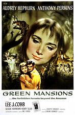 Green mansions Audrey Hepburn Anthony Perkins movie poster print 3