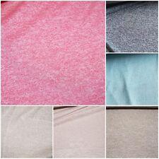 Strickstoff Feinstrick meliert 6 Farben: rosa grau hellblau beige braun #0435