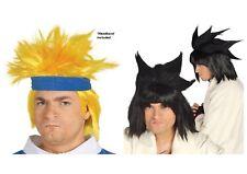 Anime Naruto Peluca Disfraz Cosplay Pelo Fiesta Halloween Comic Convenio Adultos