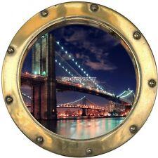 Stickers hublot  Pont de Brooklyn 8818